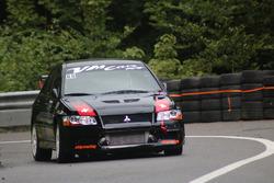 Joe Halter, Mitsubishi Lancer Evo VII, Racing Club Airbag, 1. Rennlauf