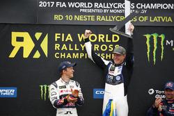 1. Johan Kristoffersson, PSRX Volkswagen Sweden, VW Polo GTi; 2. Mattias Ekström, EKS, Audi S1 EKS RX Quattro