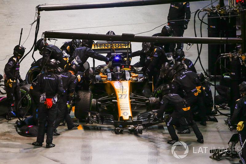 Пит-стоп: Нико Хюлькенберг, Renault Sport F1 RS17