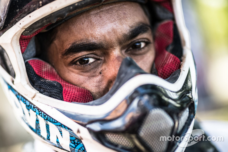 #42 Hero MotoSports Team Rally: CS Santosh