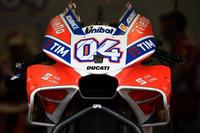 Verkleidung am Bike von Andrea Dovizioso, Ducati Team
