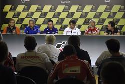 Sebastian Risse, Red Bull KTM Factory Racing, Shinichi Sahara, Team Suzuki MotoGP, Kouji Tsuya, Yamaha Factory Racing, Gigi Dall'Igna, Ducati Team, Romano Albesiano, Aprilia Racing Team Gresini
