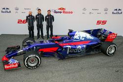 Franz Tost, Toro Rosso, Teamchef; Ben Waterhouse, Toro Rosso; James Key, Toro Rosso, Technikchef