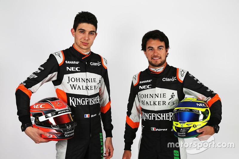 Естебан Окон, Серхіо Перес, Sahara Force India F1