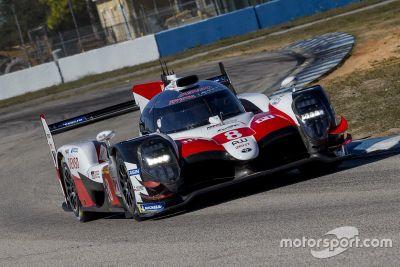Toyota Sebring February testing