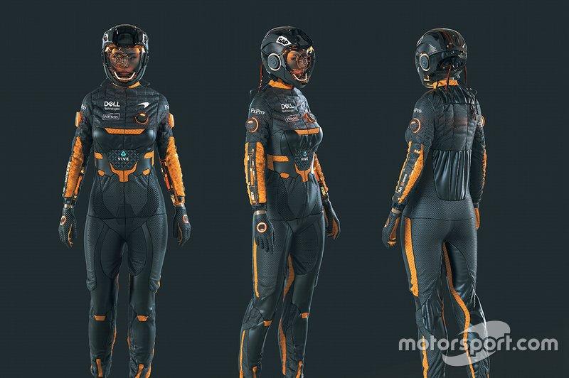 Los pilotos del McLaren 2050