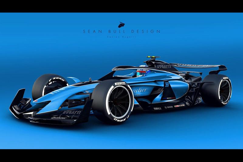 Раскраска Bugatti для концепта №3