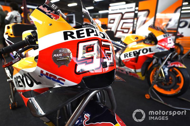 Le moto di Marc Marquez, Repsol Honda Team