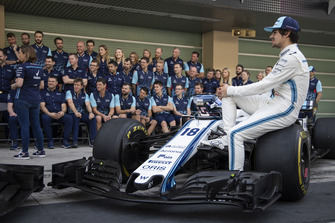 Lance Stroll, Williams Racing at the Williams Team Photo