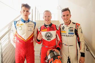 Leonardo Pulcini, Campos Racing, Nikita Mazepin, ART Grand Prix, Anthoine Hubert, ART Grand Prix