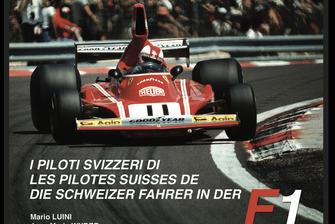 Les pilotes suisses de F1, page de couverture, deuxième livre