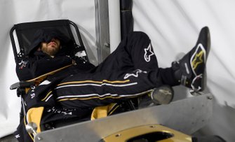 Jean-Eric Vergne, DS TECHEETAH takes a moment to rest