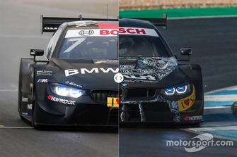 BMW M4 DTM - Comparazione vecchio e nuovo regolamento DTM Regulations