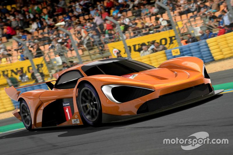 Studie: McLaren-Hypercar für WEC und Le Mans 2020