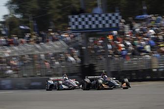 Zach Veach, Andretti Autosport Honda, Will Power, Team Penske Chevrolet