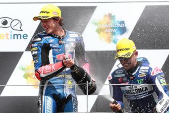 Podio: Ganador, Marco Bezzecchi, Prustel GP
