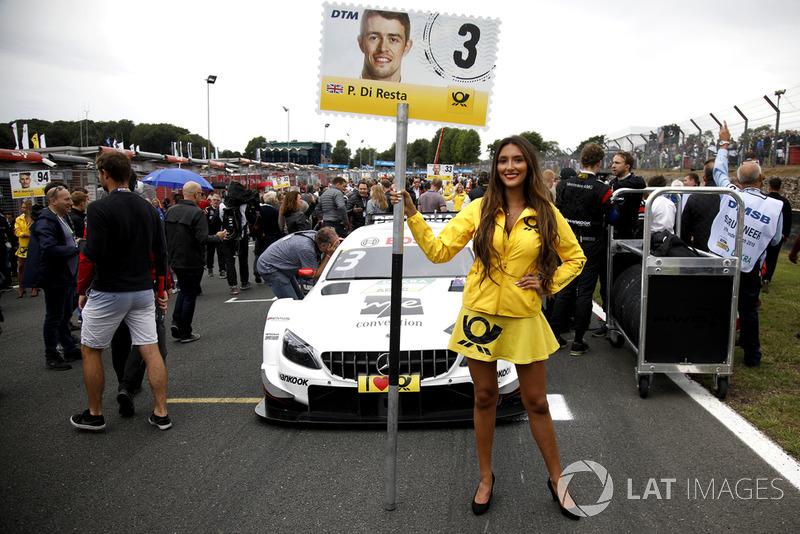 Chica de la parrilla de Paul Di Resta, Mercedes-AMG Team HWA
