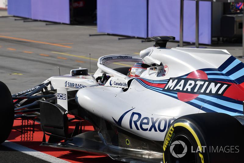 Robert Kubica, Williams FW41 018
