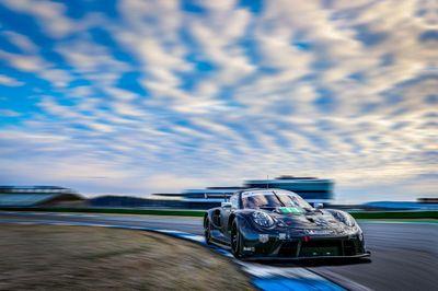 Porsche-Testt in Hockenheim