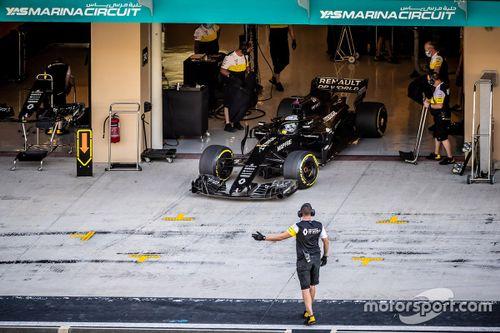 Test di Alonso con Renault ad Abu Dhabi