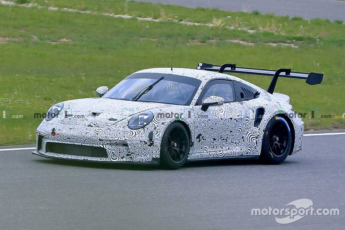 Porsche 911 GT3 Nurburgring testing