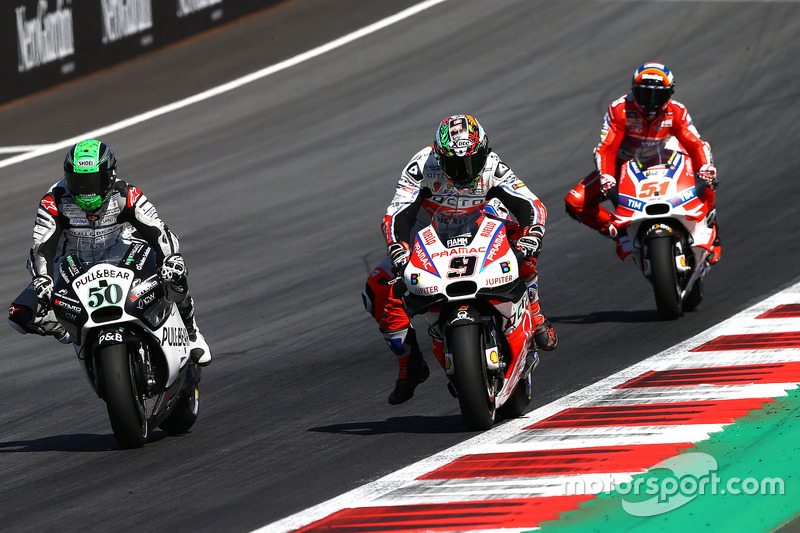 Danilo Petrucci, Pramac Racing, Eugene Laverty, Aspar Racing Team, Michele Pirro, Ducati Team