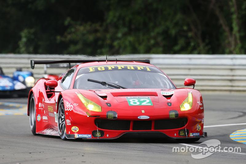 #82 Risi Competizione Ferrari 488 GTE: Джанкарло Фізікелла, Тоні Віландер, Маттео Малукеллі
