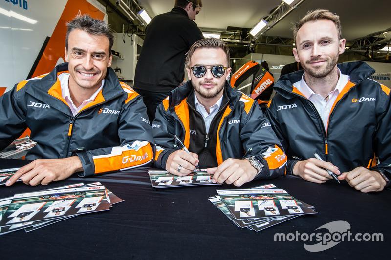 #26 G-Drive Racing Oreca 05 Nissan: Роман Русінов, Вілл Стівенс, Рене Раст