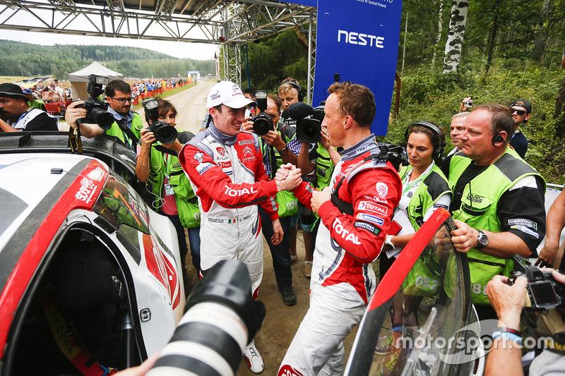 Ganador Kris Meeke, Citroën DS3 WRC, Citroën World Rally Team, Craig Breen, Citroën World Rally Team