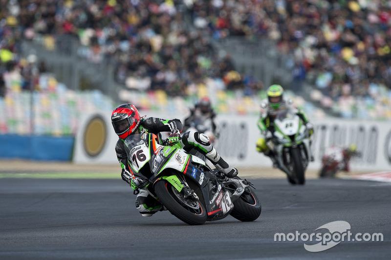 Mathieu Lagrive, Pedercini Racing