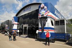 Le motorhome du team Avintia Racing
