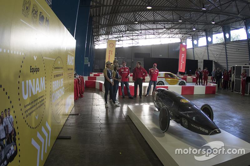 Marc Gene, Piloto de prueba, Scuderia Ferrari y estudiantes de la UNAM con el coche Mako en el Shell Eco-marathon cars