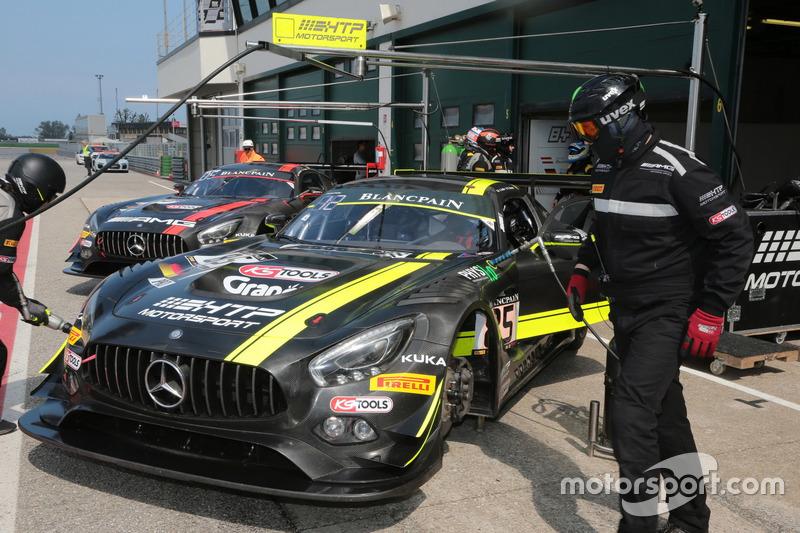 Clemens Schmid, Jazeman Jafaar, Mercedes-AMG GT3, HTP Motorsport