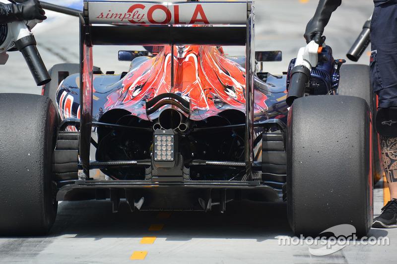 Scuderia Toro Rosso STR11, Diffusor