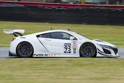 Peter Kox achter het stuur van de nieuwe Acura NSX GT3