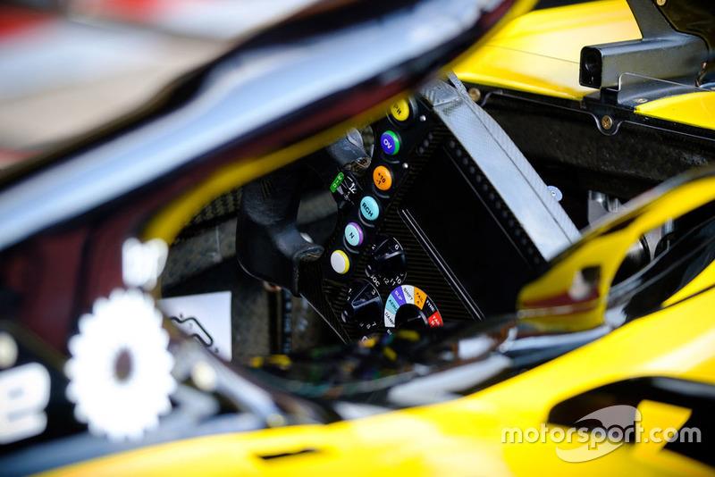 Volante del Renault Sport F1 Team R.S. 18