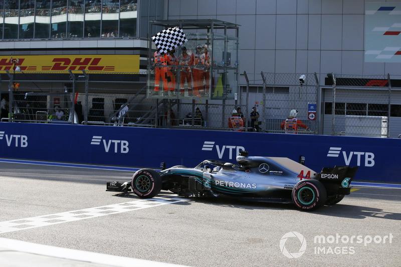 16. GP Rusia - Pemenang: Lewis Hamilton