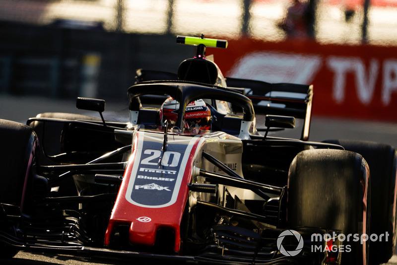 В Haas поздравляют Магнуссена с блестящей квалификацией