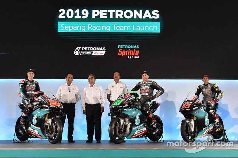 Petronas Yamaha launch