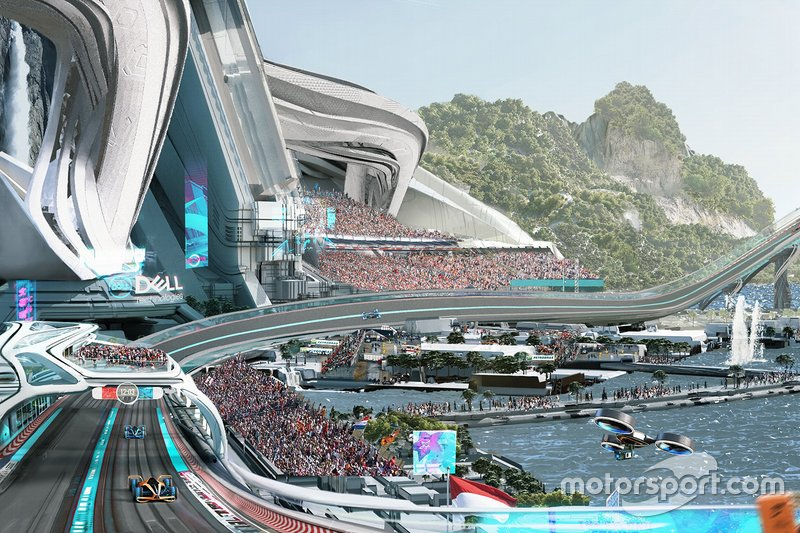 McLaren 2050 racing track vision