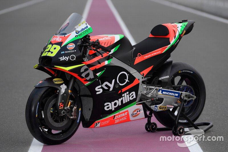 Мотоцикл Aprilia RS-GP, Aprilia Racing Team Gresini