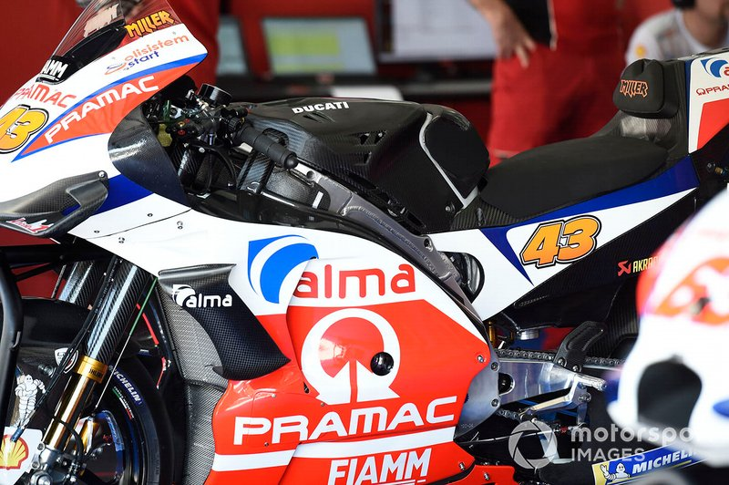 Pramac Racing bike detail