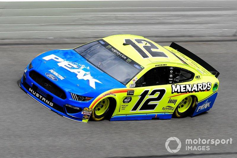 14. Ryan Blaney, Team Penske, Ford Mustang