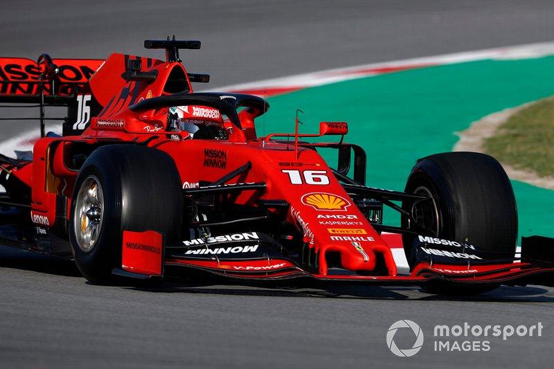 3º Charles Leclerc, Ferrari SF90, 1:16.231 (neumáticos C5, día 7)