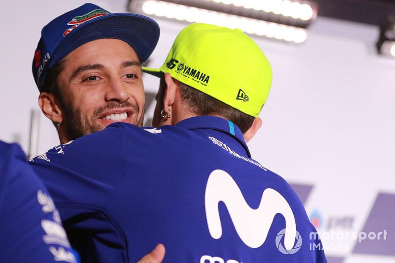 Андреа Янноне, Team Suzuki MotoGP, Валентино Россі, Yamaha Factory Racing