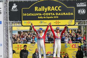 Winners Sébastien Loeb, Daniel Elena, Citroën World Rally Team Citroën C3 WRC