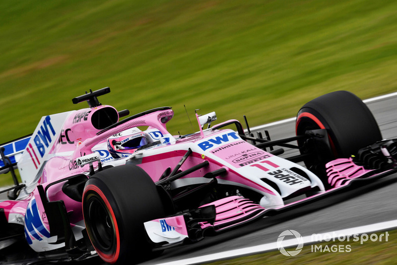12: Sergio Perez, Racing Point Force India VJM11: 1:08.741