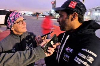 Ellen Lohr and Nasser Al-Attiyah, Toyota Gazoo Racing