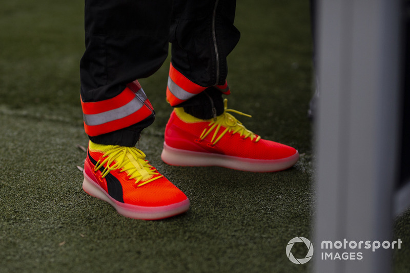 Shoes of Lewis Hamilton, Mercedes AMG F1