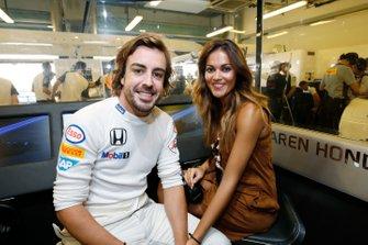 Lara Alvarez, novia de Fernando Alonso